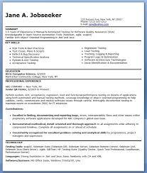 Mobile Device Test Engineer Sample Resume 8 Qa Software Tester Entry