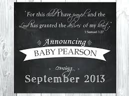 free baby announcement templates free pregnancy announcement templates