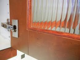 image of custom glass cabinet doors made to measure