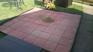 square paver patio.  Paver Made Recently Intended Square Paver Patio Q
