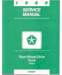 dodge dakota truck body chassis electrical service manual 1989 dodge dakota truck body chassis electrical service manual