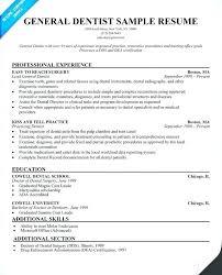 Dental School Resume Sample Dental School Resume Template For Resume