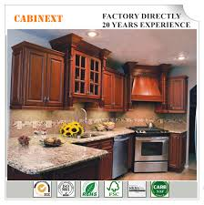 China American Traditional Furniture Kitchen Cabinets Solid Wood