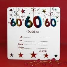 60 birthday invitations pack of 10 60th birthday party invitations amazon co uk