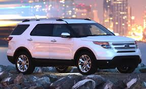 2011 Ford Explorer V6 FWD Gets EPA Ratings of 17/25 mpg | Car and ...