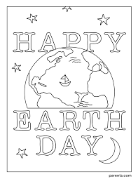 10 Free Earth Day Coloring Pages for Kids