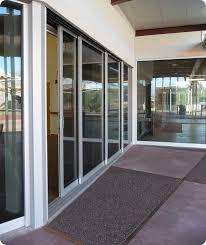 4 panel sliding glass door commercial