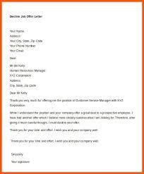 how to decline a job offer 6 declining a job offer template iwsp5