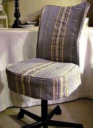 office chair slipcover august blues see detail pin i need to do this