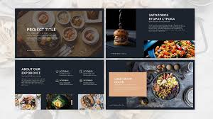 Food Presentation Template Food Presentation Template Ppt Powerpoint Template For