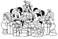 61 Best Christmas Disney Images Colouring Pages For Kids Disney