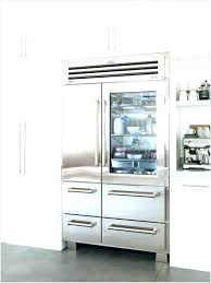 refrigerators with glass front doors the best option french door refrigerator locks glass front french