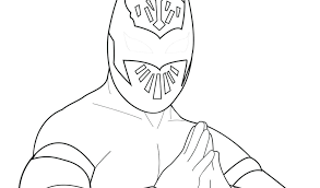 Wwe Sin Cara And Rey Mysterio Coloring Pages Jeanettewalliscom