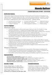 Resume Summary For Customer Service Luxury Functional Resume Example