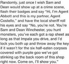 best supernatural imagines ideas dean superwolf au imagine sheriff stiles stilinski who was raised up hearing stories of the