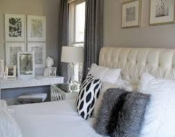 transforming a neutral master bedroom into a grey and white retreat bedroom grey white bedroom