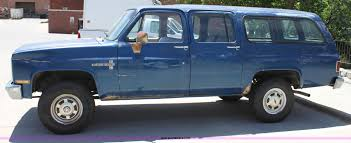 1983 Chevrolet Suburban K20 Custom Deluxe SUV | Item D5036 |...
