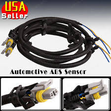 wheel speed sensor abs system parts 2x for cadillac chevrolet pontia abs wheel speed sensor wire harness 10340314