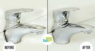 how to remove hard water stains fab cleaning deposits spots off shower doors removing from glass sink