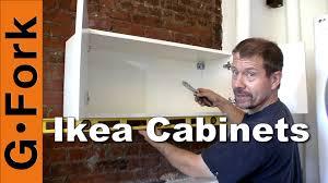 Kitchen Cabinet Installation Guide Hang Ikea Cabinets Gardenfork Youtube