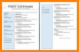 Resume Templates For Pages Amazing Best Resume Template Pages Flowersheet
