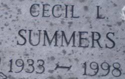 Cecil L. Summers, Sr (1933-1998) - Find A Grave Memorial