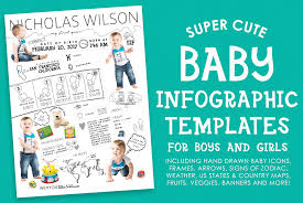 Baby Infographic Template Layered Psd Files Dpi Inspirational