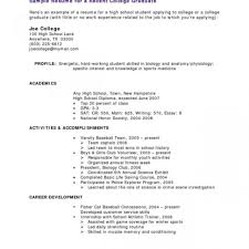 Sample Resume For Medical School Admission Resumes Template Example
