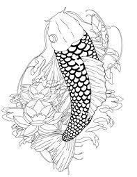 Small Picture 14 best tattoo images on Pinterest Fish tattoos Koi fish tattoo