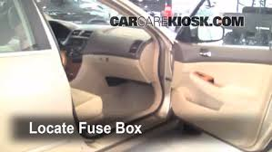 interior fuse box location honda accord honda interior fuse box location 2003 2007 honda accord 2005 honda accord ex 2 4l 4 cyl sedan 4 door