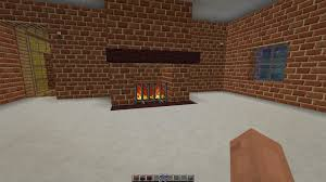 minecraft 1 8 8 creative how to build a working fireplace