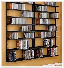 wall mounted dvd storage shelves diy