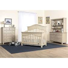 grey nursery furniture. Convertible Crib Vintage Gray Babies R Us Evolur Santa Fe 5 In 1 Grey Nursery Furniture