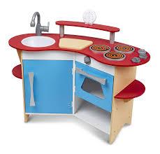 melissa doug cook corner wooden pretend play toy kitchen toddler boy sets childrens wood set