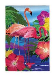 flamingo garden flags. Delighful Garden Flamingo Garden Flag On Flags
