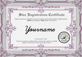 certificate view