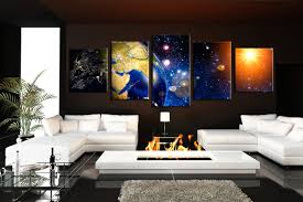 piece group canvas stars canvas photography panoramic large