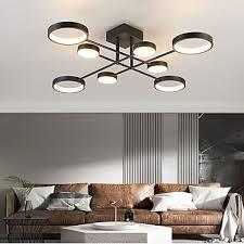 6 8 heads led ceiling light modern
