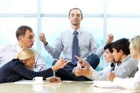 office meditation. Corporate Mindfulness Program Office Meditation