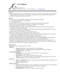 Resume Template Mac Best of Word Resume Template Mac Computer Skills Professional Experience