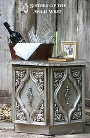 diy metallic furniture. Aged Silver Finish Metallic Paint And Glaze   Furniture Rehab DIY Ideas For Diy