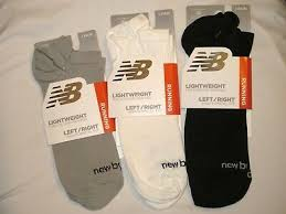 New Balance Run <b>Flat Knit No</b> Show Lightweight <b>Unisex</b> Socks (1 ...
