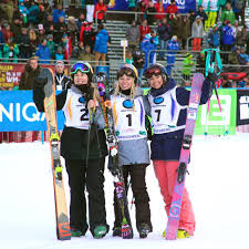 world freestyle ski and snowboard chionships silver medal winner katie summerhayes