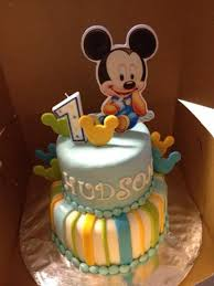 Mickey Mouse Cake  Custom Cakes Virginia Beach Specializing In Baby Mickey Baby Shower Cakes