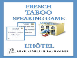 french essay le sport a level gcse by pango teaching  gcse french l hotel french taboo speaking game jeu de tabou en