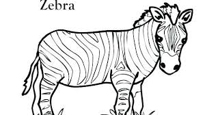 Coloring Pages Forest Animal Coloring Pages Free Zoo Animals Page