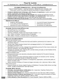 Resume Template Academic Resume Template For Grad School Free