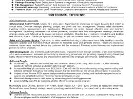 Supervisor Resume Sample Supervisor Resume Sample DiplomaticRegatta 47