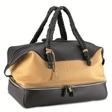 cervinia travel bag custom produced in soft deerskin leather