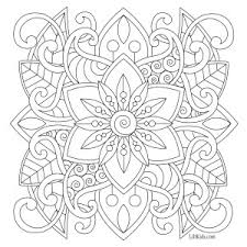 lilt kids free easy mandala coloring book image